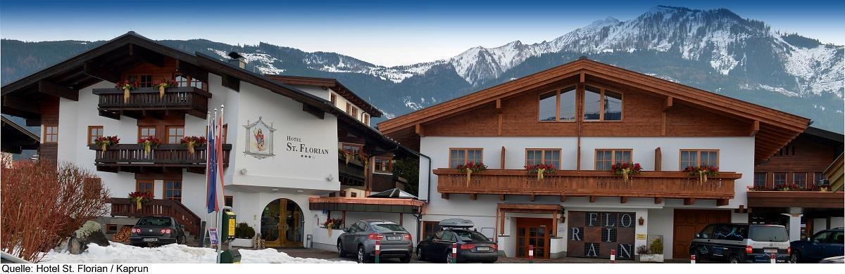 Hotel St. Florian v Kaprunu - 200 m od lanovek