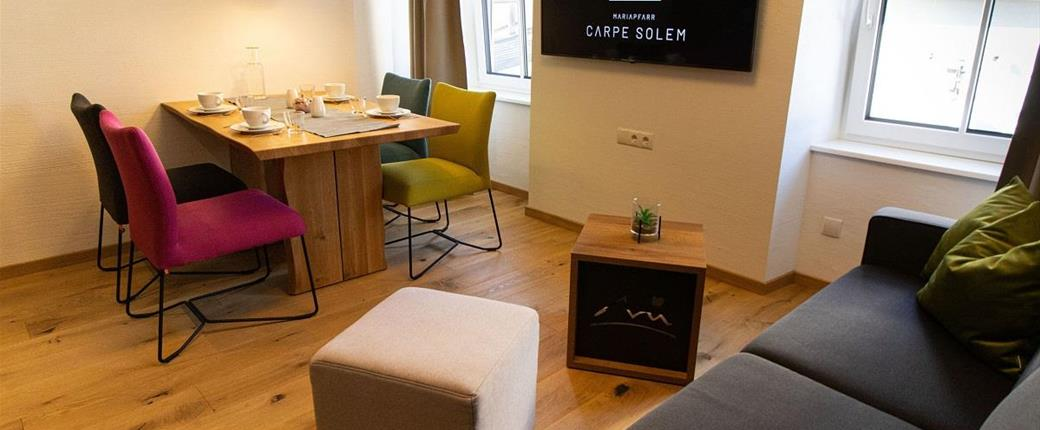 Apartmány Carpe Solem v Mariapfarr